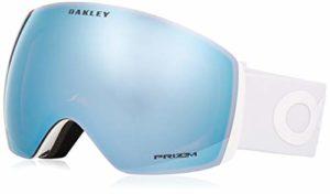 Oakley Flight Deck Masque de Ski Mixte Adulte, Factory Pilot Whiteout/Prizm Sapphire Iridium, 99