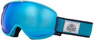 Salomon, Masque de Ski pour Femme, Temps Ensoleillé, Écran Bleu Multicouche (interchangeable), Custom ID-Passform, Airflow System, iVY, Bleu (Wisteria), L39905400