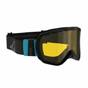 Ski Masques et Lunettes Lunettes De Ski Protection des Lunettes De Neige Protection Changement De Ski GogglesUV Couleur Et Lens Lunettes De Ski Anti-buée (Color : Yellow, Size : 32 * 15 * 10cm)