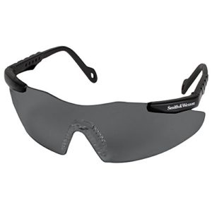 S&W MAGNUM 3G SAFETY GLASSES BLACK FRAME/ SMOKE