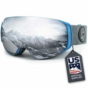 Wildhorn Outfitters Roca Lunettes de Ski et Lunettes de Snowboard