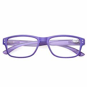 YBDd Z@Eye Nouveau Mode des Douanes Presbytie Lunettes Néerlandais Printemps Lunettes De Lecture en Plastique Confort for Les Hommes Et Les Femmes Eyewears for La Lecture 7.27