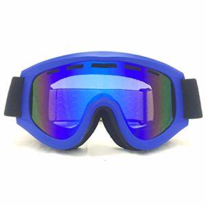 Yopria Masques de Ski, Masques Anti-buée, Masques de Ski sphériques Anti-UV Hommes et Femmes Jeunes Adultes YR24103