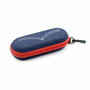 Boîte De Présentation De Lunettes Lunettes de soleil Case Portable Zipper Lunettes Case Box de protection for hommes femmes ou des enfants Fermeture à glissière Peut Facilement Stocker Des Lunettes