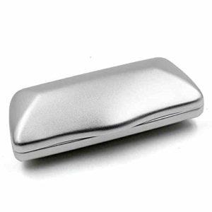 YDHG Boîte De Présentation De Lunettes Lunettes de Soleil Lunettes de Protection Box Slim Case Compact Aluminium léger Cas de Lunettes for Hommes Femmes Peut Facilement Stocker des Lunettes