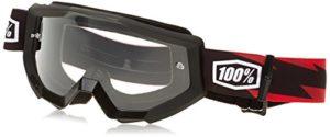 100% 50400-076-02 Strata Slash Masque de Vtt Rouge