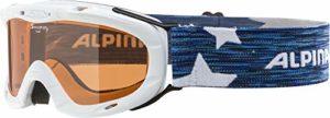 Alpina A7050-433 Ruby S Lunettes de ski Enfant Blanc