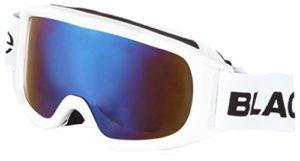 Black Crevice Lunettes de ski pour femme taille unique Blanc – Wieß/Smoke Blue