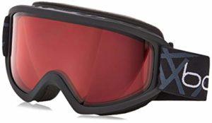 Bollé 21797 Masque de Ski Mixte Adulte, Noir Mat, M