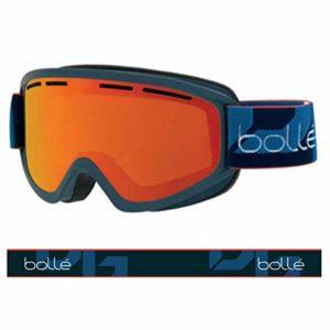 Bollé – SCHUSS – Masque de Ski – Mixte – Adulte – Navy Mat/ Sunrise – M