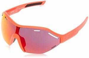 Briko Sirio Lot de 2 Lunettes de Soleil de Cyclisme Unisexes pour Adulte Orange