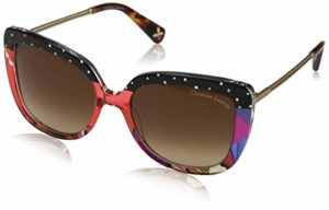 Christian Lacroix CL, Montures de Lunettes Femme, Multicolore (Dots Red/Brown), 55.0