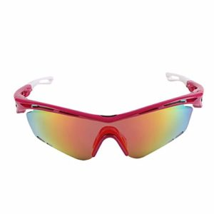 EMYUU Lunettes de Cyclisme, Coupe-Vent, résistant aux Chocs, lentille polarisée antireflet, Neutre, Convient à Tous Les Sports de Plein air, la lentille n'est Pas Facile à Tomber 04