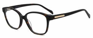 FERAVIA Monture de lunettes – Femme Medium – Marron – Medium