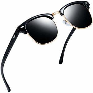 Joopin – Lunette de soleil – Femme Brilliatn Black Frame Grey Lens