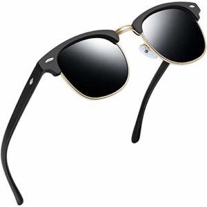 Joopin – Lunette de soleil – Femme Matte Black Frame Grey Lens
