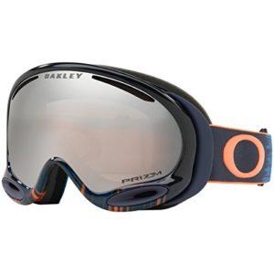 Oakley A-Frame 2.0 Masque de Ski Mixte Adulte, Prizm Snow Black Iridium