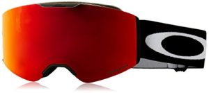 Oakley Fall Line Masque de Ski Mixte Adulte, Matte Black/Prizm Snow Torch Iridium