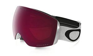 Oakley Flight Deck XM Masque de Ski/Snowboard Matte White, Écran Prizm Rose