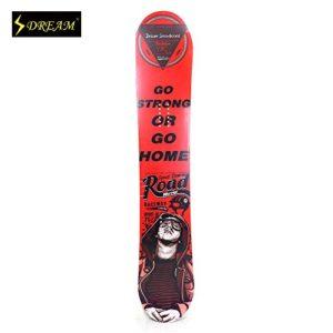 personnalisable Professional Flexible Snowboard Core Bois avec fibre de carbone ABS côté murale Adulte Freeride gratuit Lunettes de ski