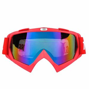 Reeamy-Home Masque de Ski Lunettes de Ski, for Le Ski, Snowboard, Motocyclisme et Sports d'hiver – Anti-Brouillard et Casque Compatible – Protection UV400 Lunettes de Ski équitation
