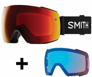 SMITH I/O Mag Masque de Ski Mixte Adulte, Noir