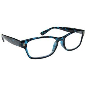 The Reading Glasses Lunettes de Lecture Bleu Écaille Lecteurs Hommes Femmes R10-3 +1,00