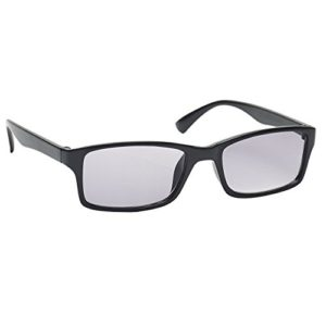 The Reading Glasses Lunettes de Lecture Noir Soleil UV400 Designer Style Hommes/Femmes S92-1 +2,00