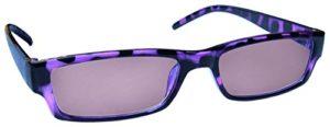 The Reading Glasses Lunettes de Lecture Violet Écaille Léger Confortable Soleil UV400 Hommes/Femmes S32-5 +3,00