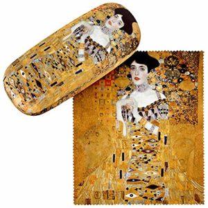 VON LILIENFELD Étui Lunettes Femme Motif Art Gustav Klimt : Adele