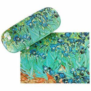 VON LILIENFELD Étui Lunettes Femme Motif Art Vincent van Gogh Iris