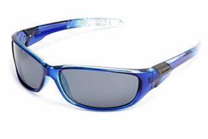 X-Loop ® Lunettes de Soleil / Lunettes de Ski – Verres Polarisés – Mod. Elite / Taille Unique Adulte / Protection 100% UV400