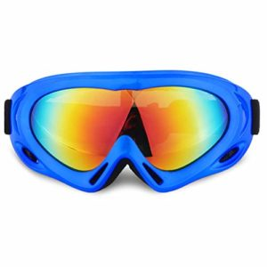 AEF Anti-Buée Lunettes Ski Masques Snowboard Motoneige Moto Lunettes Ski Goggles Protection Lunettes Lens Anti-Poussière UV Protection Coupe-Vent Hommes Femme,2