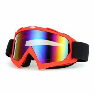 AEF Ski Masque Snowboard Hommes Femmes Jeunes OTG Masque Ski Anti-Buée Protection UV400 Compatibles Casque Anti-Éblouissement Lunettes Snowboard,3