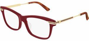 Gucci Lunettes de Vue GG0524O Red 54/17/140 femme