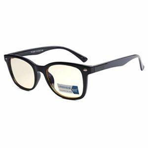 Lunettes de filtre anti-UV pour hommes et femmes – Lunettes anti-UV radial Reflex – Léger et confortable – Anti-lumière bleue – 3