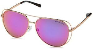 Michael Kors Lai 11944X 58 Montures de lunettes, Or (Rose Gold/Tone/Fuschiamirror), 58 Femme