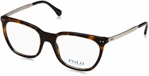 Ralph Lauren 0PH2170 Monture de Lunettes, Multicolore-Marron (Shiny Dark Havana), 53 Femme