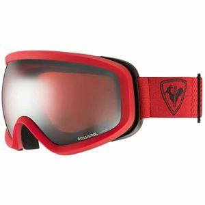 Rossignol Ace Amp Red-Sph Masque de Ski, Unisexe pour Adulte, Couleur Unie