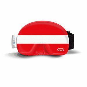 Soggle Masque de ski en microfibre Taille unique, native 03 Österreich