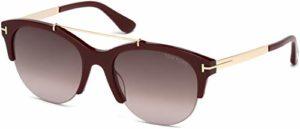 Tom Ford Sunglasses FT0517 5569T Montures de Lunettes, Rouge (Rot), 55 Femme