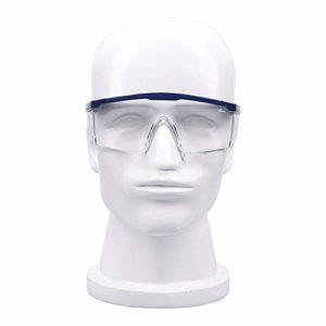 Ys-s Personnalisation de la boutique Antipoussière et coupe-vent équitation lunettes de sécurité, UV résistant aux chocs et des lunettes de protection anti-éclaboussures, valve de ventilation lentille