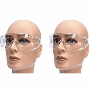 Ys-s Personnalisation de la boutique Lunettes rouges nettes, aux éclaboussures, à la poussière, coupe-vent, lunettes de travail de protection du travail, des lunettes transparentes expérimentales poli