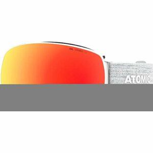 ATOMIC – Masque De Ski/Snow Revent Q Stereo White Cat.3 Mixte – Mixte – U – Blanc