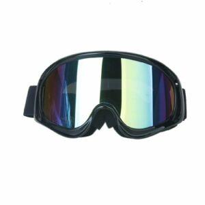 F Fityle Masques pour Les Yeux Lunettes Anti-buée Accessoire pour Le Ski de Patinage – Noir, comme décrit