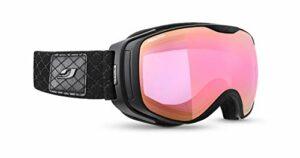 Julbo Luna Masque DE Ski pour Femmes, Noir, M
