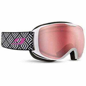Julbo Pioneer Masque DE Ski pour Femmes, Blanc, M