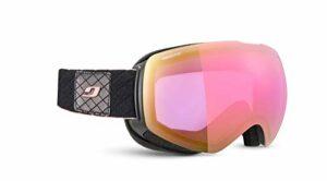 Julbo Shadow Masque DE Ski pour Femmes, Noir/Rose, L