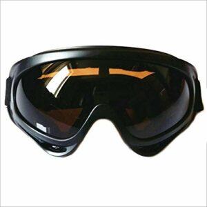 Lumière Lunettes de Ski ABS + Haute qualité UV400 Protection CE Protection des Lunettes de Ski Snowboard Skate Sport TXTB1 (Color : A, Envío Desde : China)