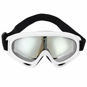 Lunettes de ski lunettes de neige protection UV Protection Nouveaux lunettes anti-UV coupe-feu anti-brouillard ski ski ski de vélo lunettes de protection lunettes de protection anti-poussière d'hiver